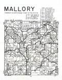 Mallory Township , Clayton County 1966